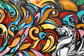 フリー写真画像: アート、イラスト、パターン、落書き、抽象的、装飾、デザイン、グラフィック、テクスチャ